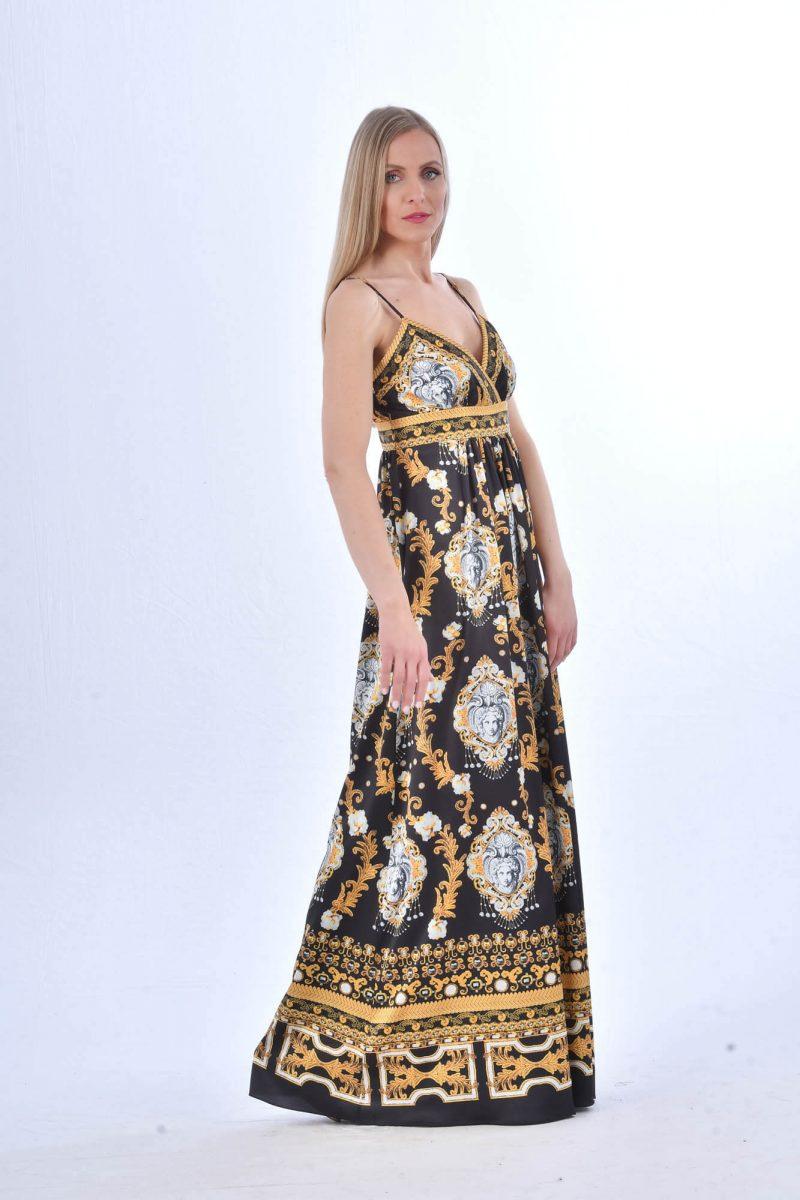 fe8921be3db9 Μακρύ Αέρινο Φόρεμα Allure - Flirt in Fashion